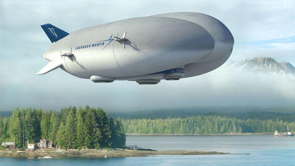 Lockheed Martin airship design (Credit: Lockheed Martin)