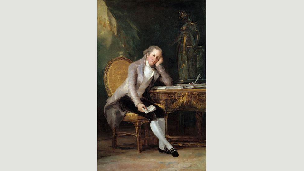 Gaspar Melchor de Jovellanos, Goya'nın portresinde tanıdık bir poz veriyor (Kredi: Alamy)