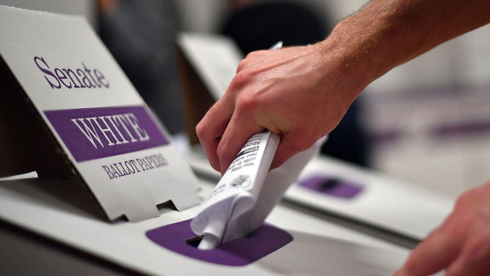Making an informed decision in elections can be time consuming and often voters resort to more superficial ways to make their choice (Credit: Getty Images)