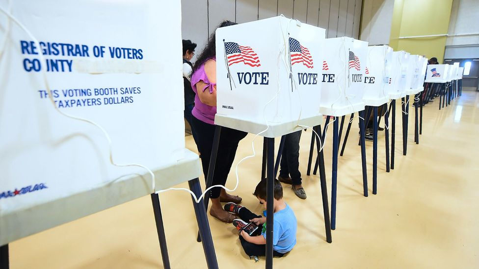 Artificial intelligence could allow us to co-opt the technology on our smartphones to use what it learns about us to tell us how to vote (Credit: Getty Images)