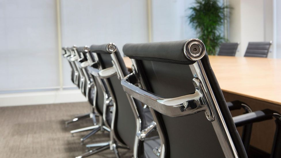 The best way around draining workers from meetings? Keeping seats as empty as possible with minimal invitees (Credit: Alamy)