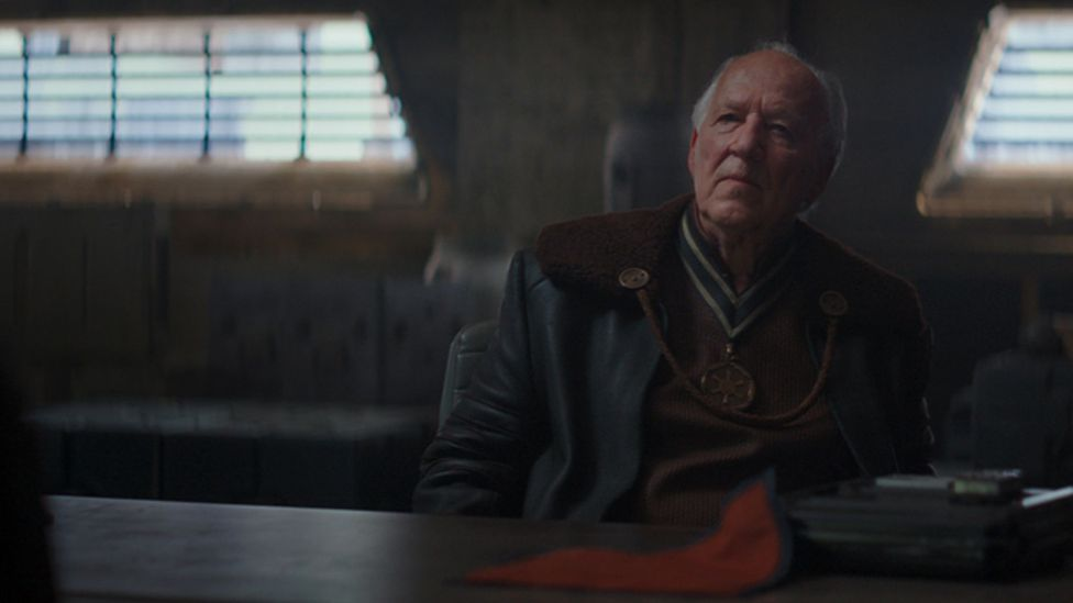 Legendary German director Werner Herzog makes an unexpected appearance in The Mandalorian (Credit: Disney)