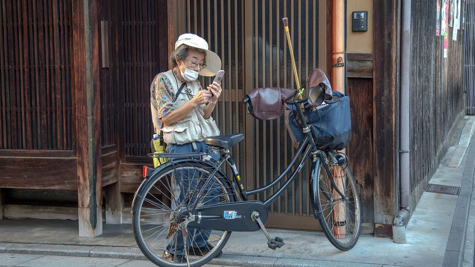Japan has one of the most rapidly greying populations on the planet. Pensioners already make up 13% of its labour force (Credit: Getty Images)