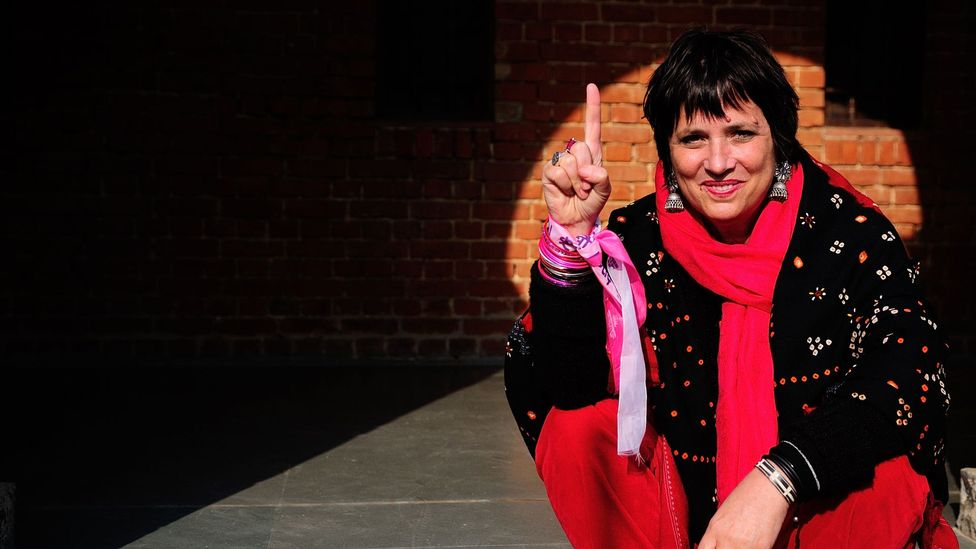 Writer Eve Ensler amplified the conversation about vaginas with her hit play The Vagina Monologues (Credit: Getty Images)