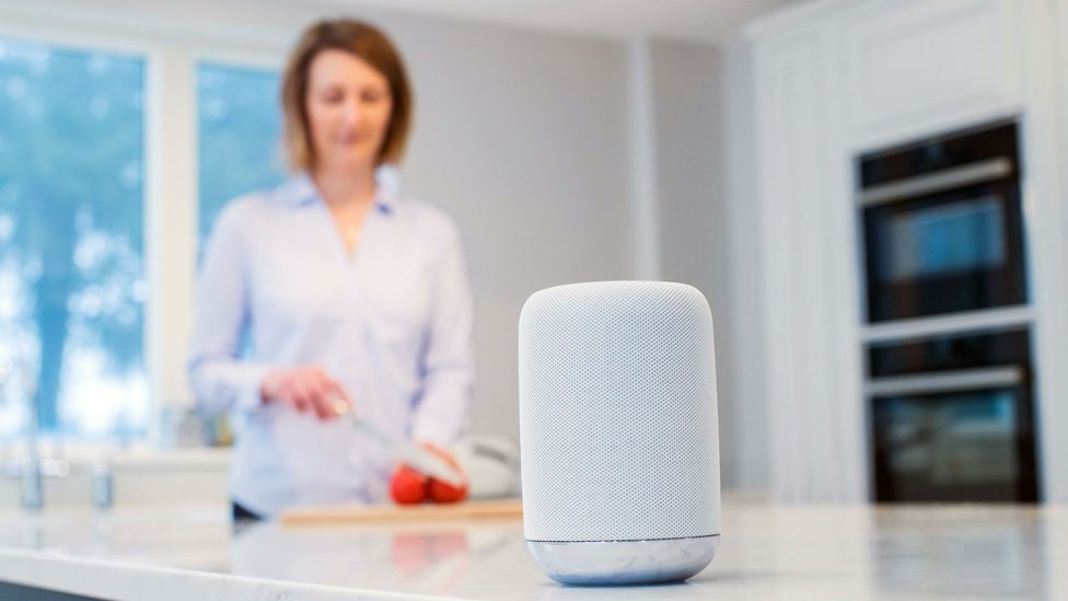 Just like a smart speaker that's listening for your commands 24 hours a day, our brains can't quite switch off to the noise around us, either (Credit: Alamy)