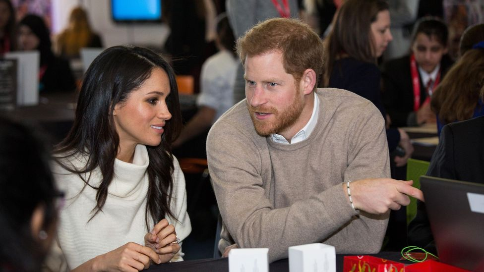 As time has gone on, the Royals have become celebrities, with 'stars' such as the Duke and Duchess of Sussex getting massive international coverage (Credit: Alamy)