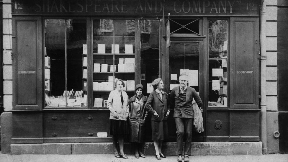 Ernest Hemingway was among the writers who gathered at the bookstore (Credit: Alamy)