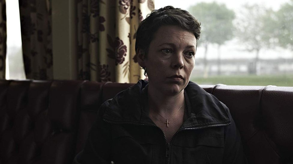 After starring as a victim of abuse in the 2011 drama Tyrannosaur, Olivia Colman became a Refuge ambassador (Credit: Film 4)