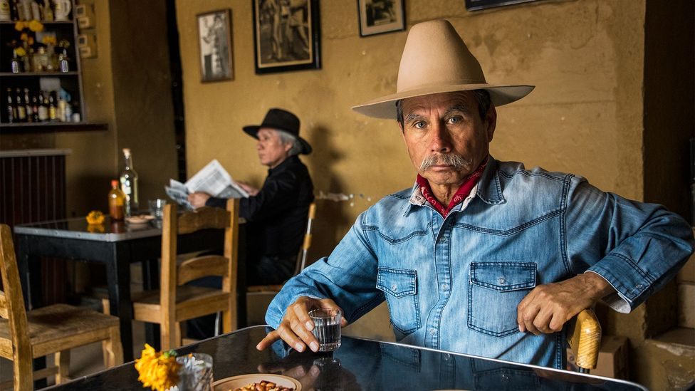"Unlike in the US, most Mexicans regard seniors as hombres de juicio (""men of judgment"") (Credit: Steve McCurry)"
