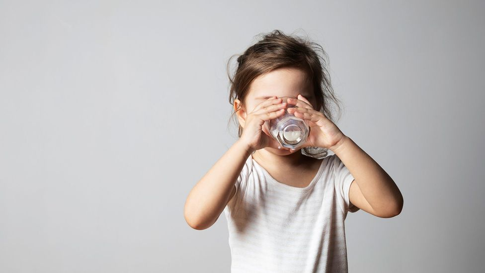 It's recommended that small children consume 350 milligrams of calcium a day, which can be provided by just over half a pint of milk (Credit: Getty Images)