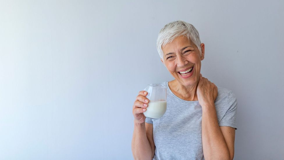 Soya milk is the best replacement for cow's milk, but because its protein quality may be lower, it may not be the best choice for the elderly (Credit: Alamy)