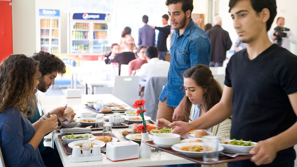Askidanevar aims to connect university students in need to the companies that want to support them (Credit: Claudia Wiens/Alamy)