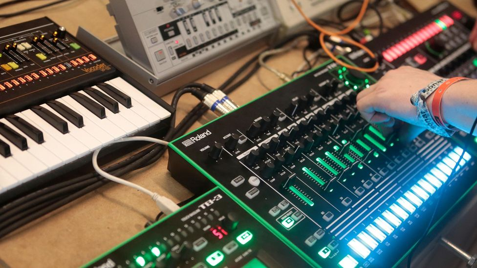 There's a high barrier to entry to becoming a full-time producer –  online platforms make it easier for beat makers to make money from their hobby (Credit: Alamy)