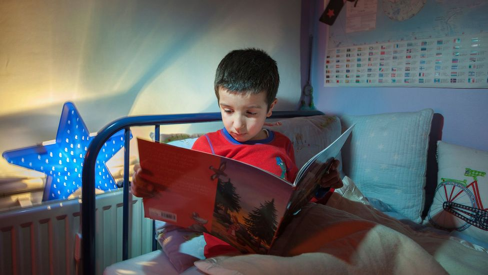 The reading gap is smaller among children from more educated households, which provide home instruction and likely value reading and writing more highly (Credit: Alamy)