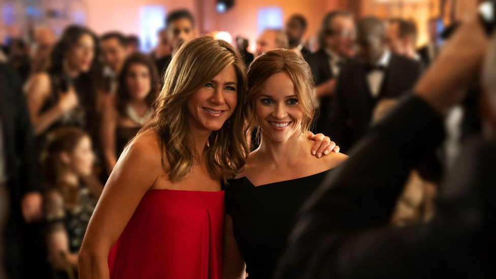 The stars of The Morning Show – Jennifer Aniston and Reese Witherspoon – also serve as executive producers (Credit: Apple TV+)