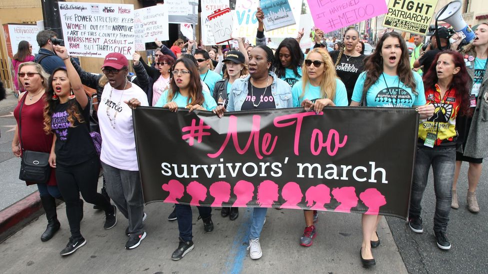 In a 2018 survey by careers consultancy Vault, one in four workers said the #MeToo movement had made them view workplace relationships as less acceptable (Credit: Alamy)