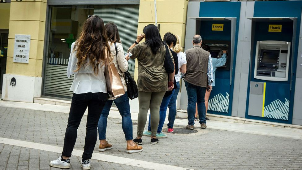 People value the services more when they can see work being done so some ATMs use animations while people wait for their cash (Credit: Alamy)