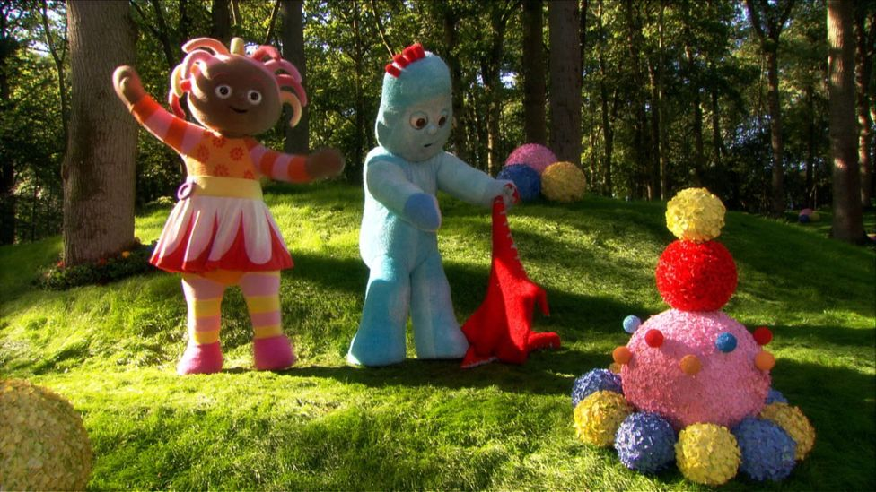The characters from In the Night Garden are intended to have the same preoccupations and interests as the young audience who watch them (Credit: BBC)