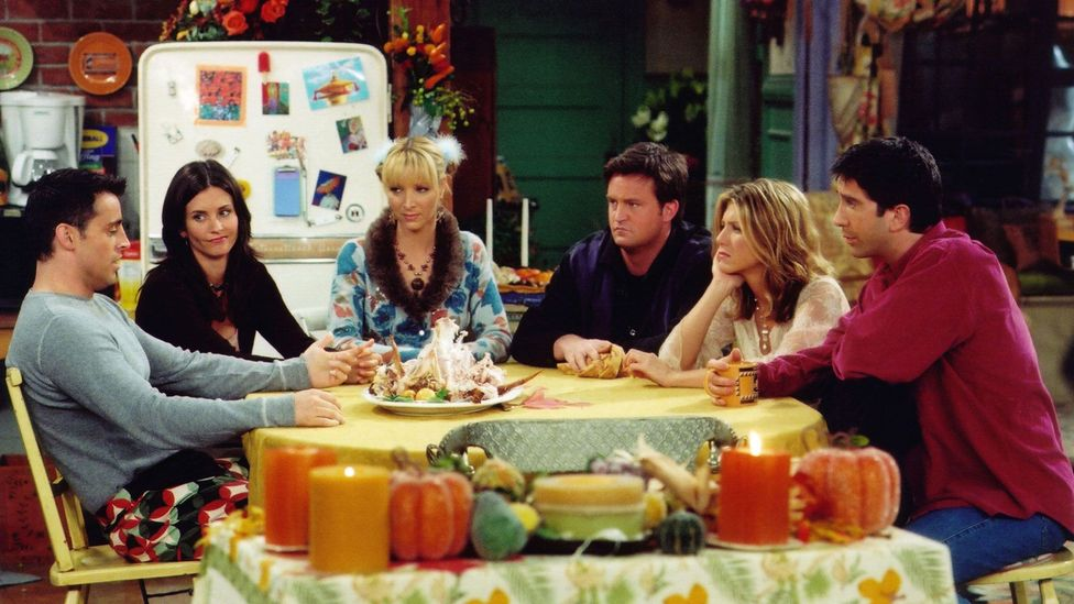 Shows like Seinfeld and Friends, where the characters come and go in each other's apartments, show similar amae qualities (Credit: Alamy)