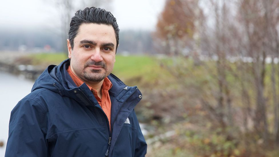 Ali Omumi, originally from Iran, was deported from Sweden after his employer made an administrative mistake on his work permit extension application (Credit: Ali Omumi)