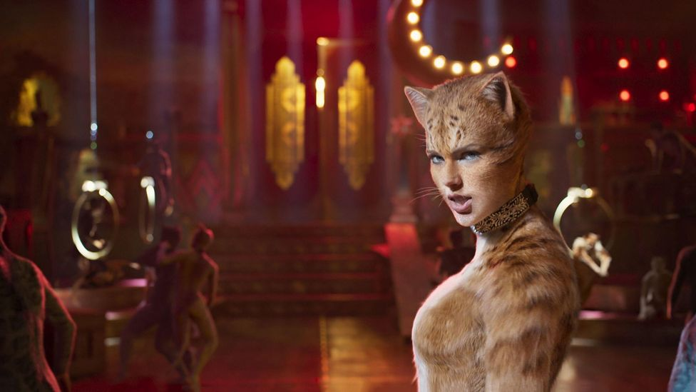The new big-screen adaptation of Cats features the likes of Taylor Swift donning whiskers and so-called 'digital fur technology' (Credit: Alamy)