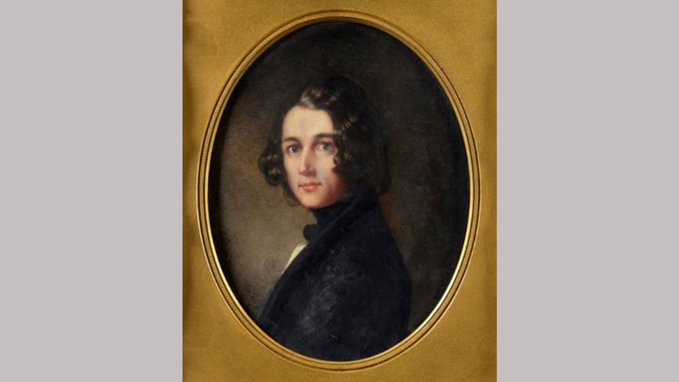 The portrait shows Dickens as a young man, a far cry from many of the later, more famous works (Credit: Charles Dickens Museum)