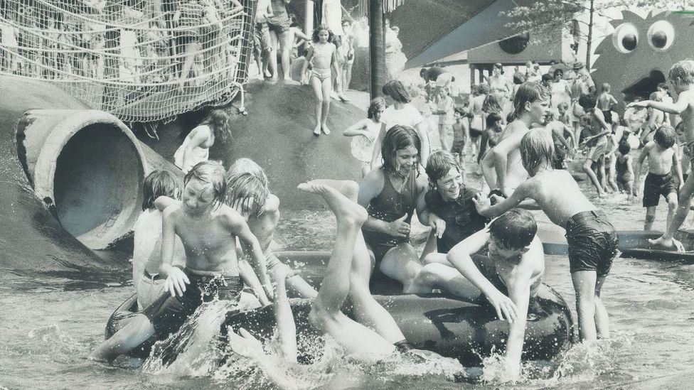 McMillan invented the ball pit, but not before rolling out various attractions at Ontario Place (Credit: Getty Images)