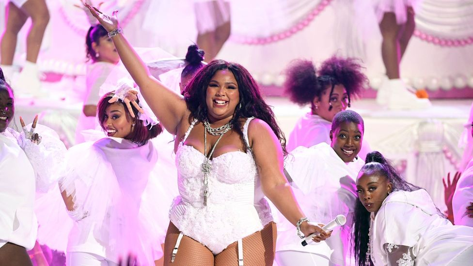 Much of Lizzo's appeal lies in her body-positive message and her celebration of self-care (Credit: Getty Images)