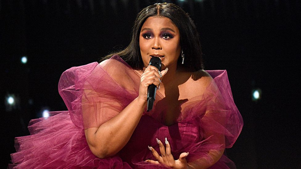Lizzo has authenticity and charisma, and has also become a style icon for many (Credit: Getty Images)