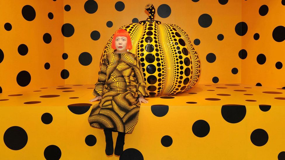 Kusama's works were inspired by visual hallucinations she had in childhood (Credit: NYBG)