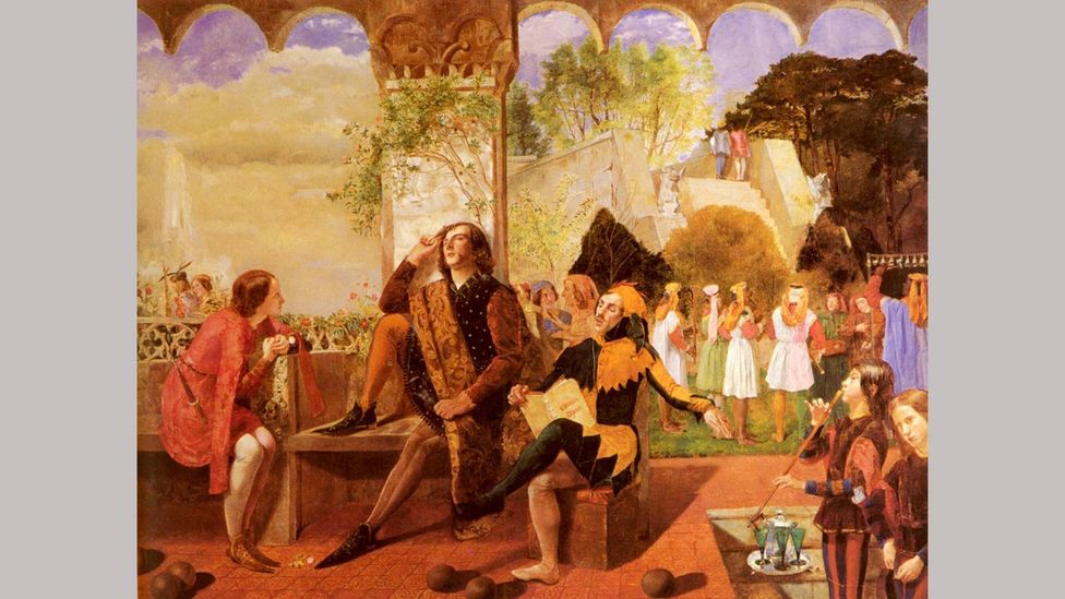 'Like a queen' is how Walter Howell Deverell described Lizzie Siddal - she was the model for Viola in his painting Twelfth Night (c.1850) (Credit: Alamy)