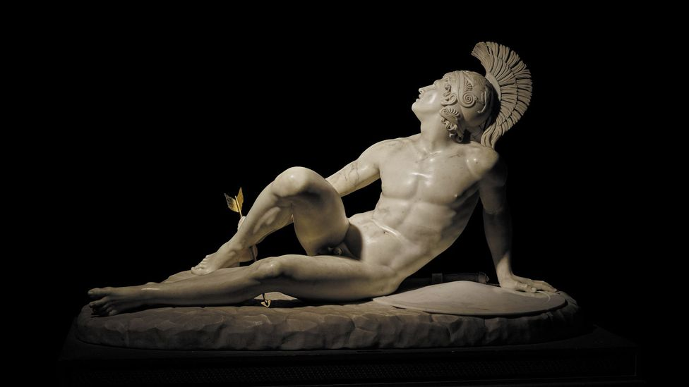 The Wounded Achilles, 1825, by Filippo Albacini (Credit: Devonshire Collections, Chatsworth/ Chatsworth Settlement Trustees)