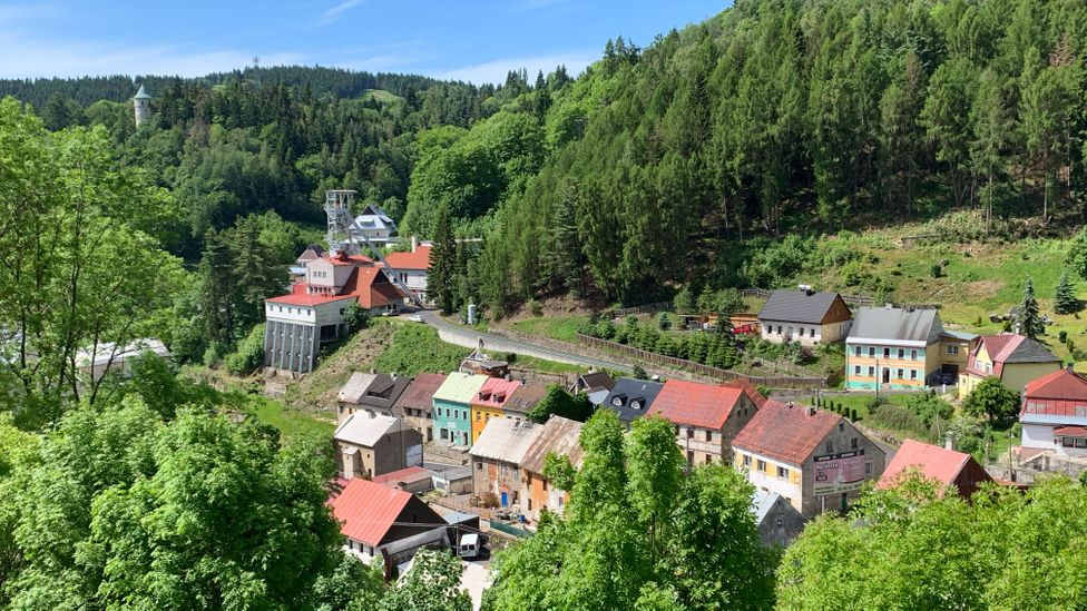 The tiny Czech town of Jáchymov was just named one of Unesco's newest World Heritage sites (Credit: Eliot Stein)