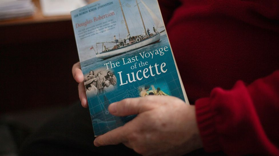 Douglas Robertson has written a book documenting the family's ordeal and how they survived so long at sea (Credit: Javier Hirschfeld)