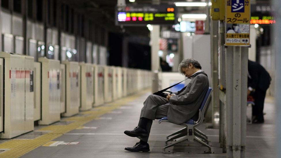 'Karoshi', or death from overwork, is an ongoing issue within Japan's extreme work culture (Credit: Getty Images)