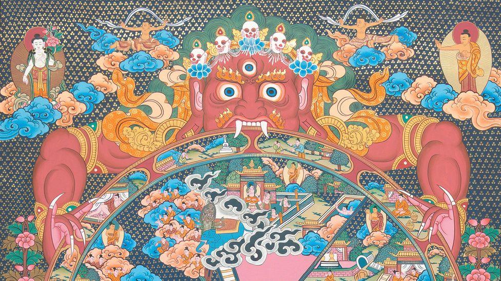 (Credit: Master Buddha Lama, Sunapati Thangka Painting School, Bhaktapur, Nepal)
