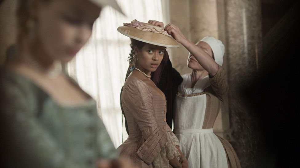 The 2013 film Belle is an example of how film and TV are now uncovering stories of forgotten BAME figures from history (Credit: Alamy)