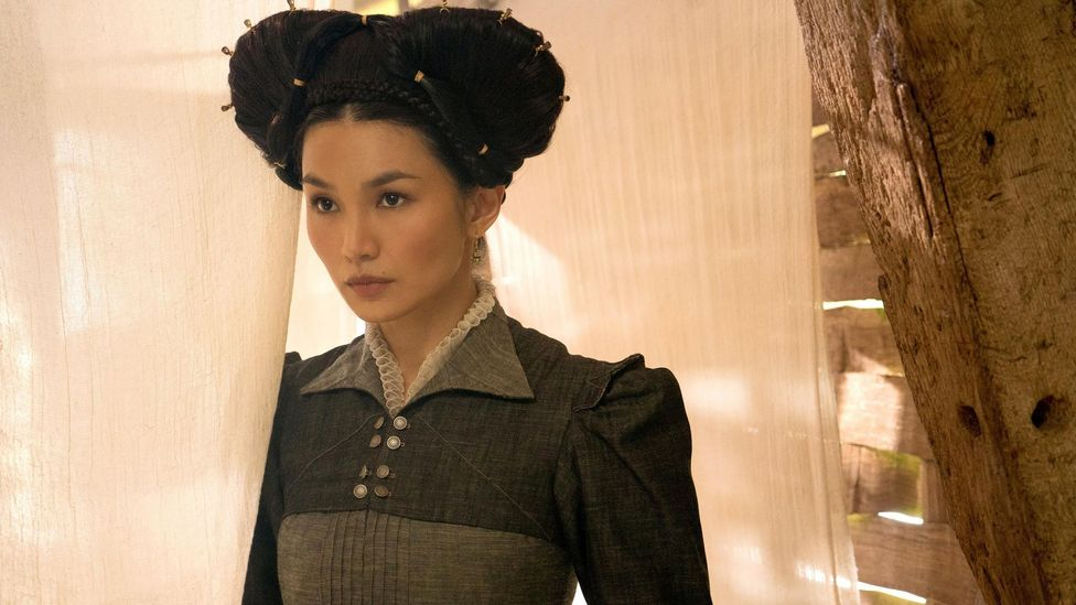 In last year's historical drama Mary Queen of Scots, director Josie Rourke cast British Asian actor Gemma Chan as white noblewoman Bess of Hardwick (Credit: Alamy)