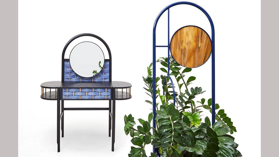 The Splot range for Sikorski Supreme Furniture incorporates weaving into the design (Credit: Marek Swoboda)