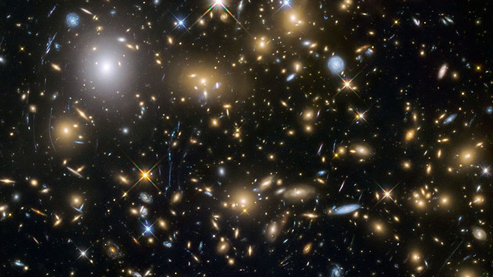 Theoretical physicists are increasingly finding that inflation theory fails to account for the spread of matter and energy observed in the Universe (Credit: Nasa/ESA)