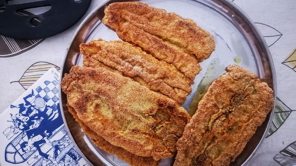 Bombay duck isn't a duck at all and is eaten by Parsis and other groups across Mumbai (Credit: Meher Mirza)