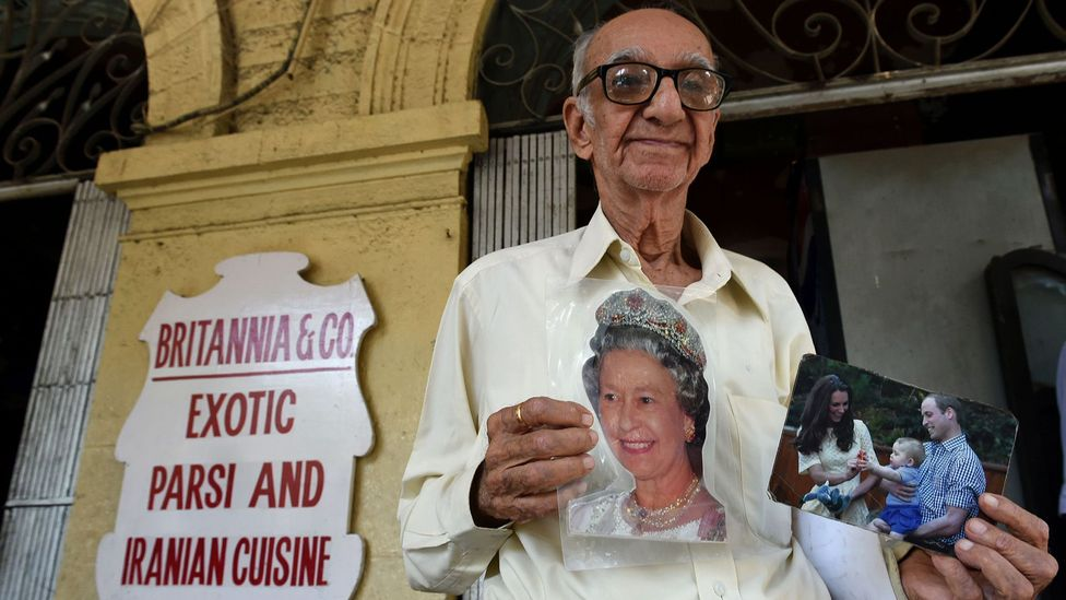 The late Boman Kohinoor oversaw Britannia & Co Restaurant, one of the only public places in Mumbai to eat Parsi-style Bombay duck (Credit: Indranil Mukherjee/Getty Images)