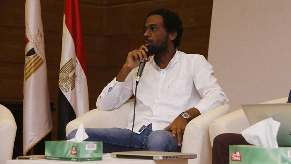 Language activist Momen Talosh has built an app to try to revive two forms of Nubian, which are spoken mainly in Egypt and Sudan (Credit: Momen Talosh)