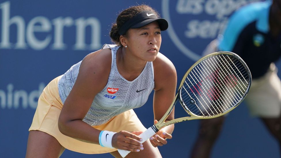 Tennis player Naomi Osaka's success has helped to change attitudes around multiculturalism in Japan (credit: Getty Images)