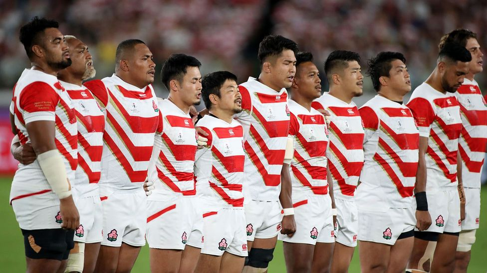 At the 2019 Rugby World Cup in Tokyo, Japan's national team made history by reaching the quarter-finals (credit: Koji Aoki/AFLO SPORT/Alamy Live News)