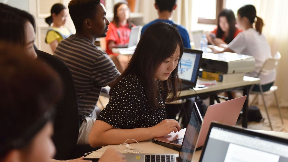 Researchers say that, if used ethically, the 'vocation compass' could help students narrow down career path choices by trawling their social media feeds (Credit: Getty Images)