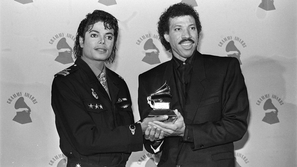 Michael Jackson and Lionel Ritchie