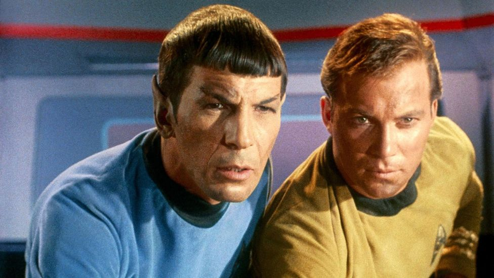 Star Trek first launched in 1966, with William Shatner as James T Kirk and Leonard Nimoy as Spock (Credit: Alamy)