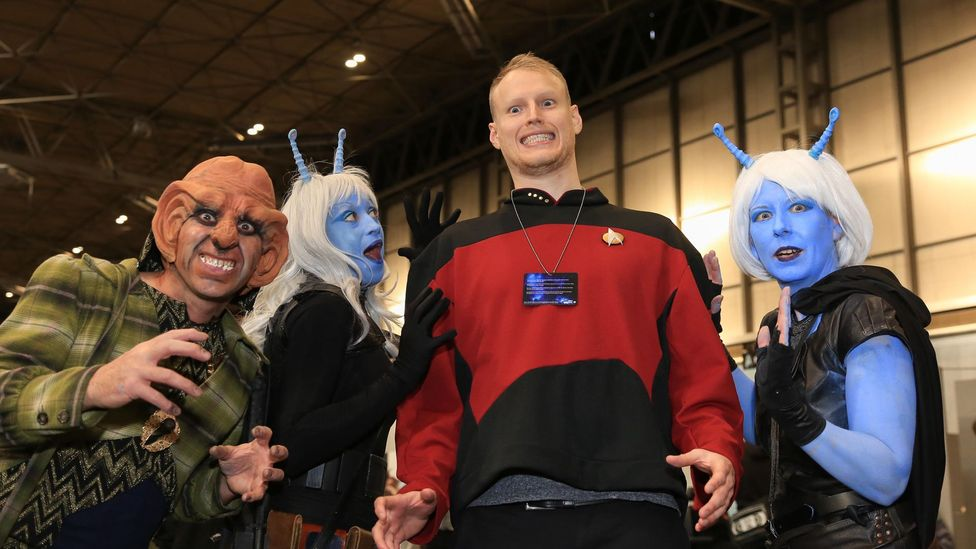 Trekkies were the original geek superfans, turning up en masse for conventions and meetings, which continue to thrive to this day (Credit: Alamy)