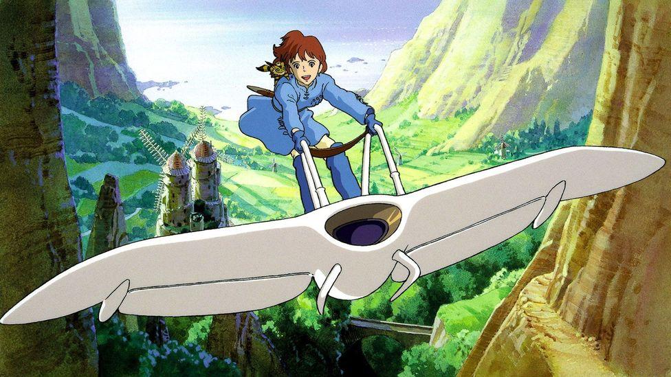 Nausicaä of the Valley of the Wind (Credit: Studio Ghibli)